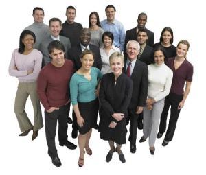 variety of people
