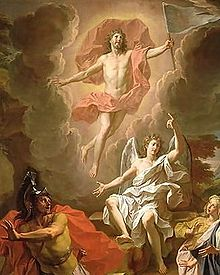 Resurrection Coypel 1700