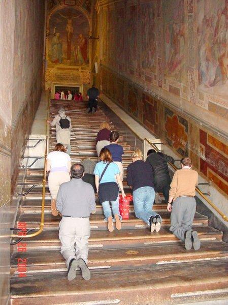 Scala Santa Sacred Stairs