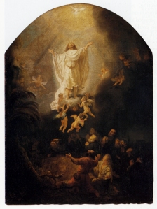 the-ascension-of-christ-1636 Rembrandt