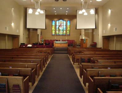Screens and Hymnals