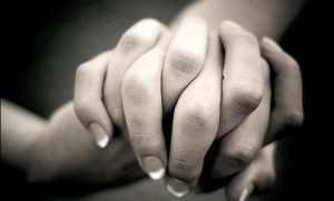 joined hands