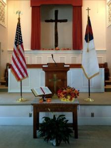 American Flag - Christian Flag
